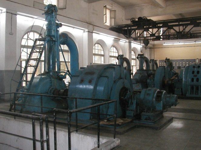 Wasserkraftwerk La Kadischa