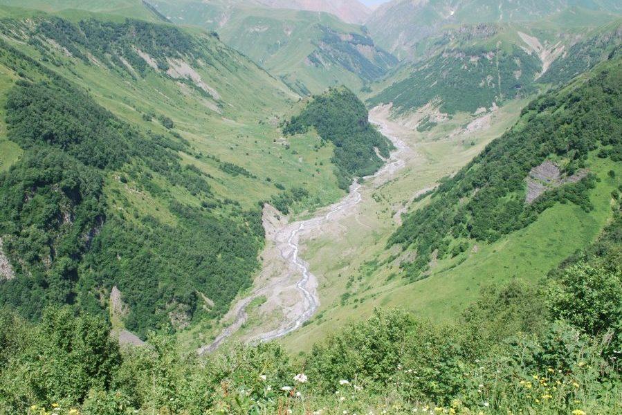 Wasserkraftwerk Gudauri
