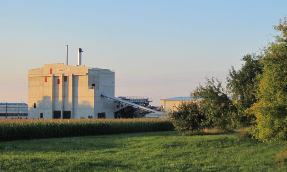 EVN Biomasse- Kraft Wärmekoppelung Steyr Und Ramingdorf